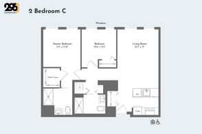 2 Bedroom C floorplan