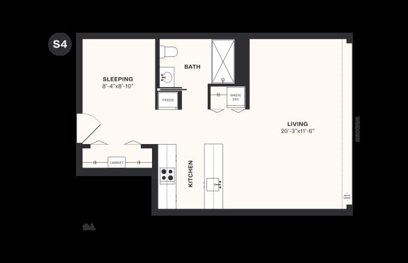 S4 floorplan