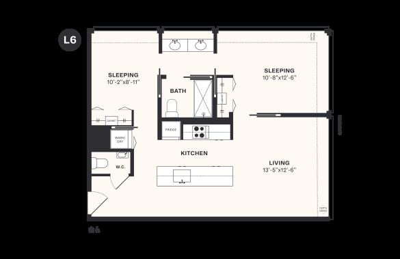 L6 floorplan