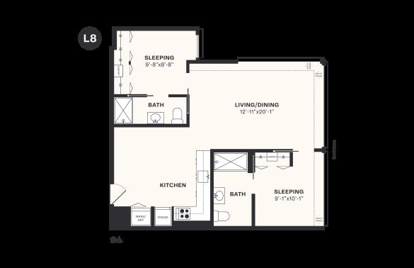 L8 floorplan