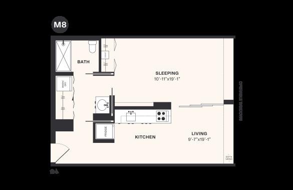 M8 floorplan