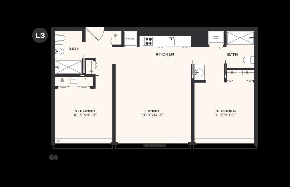 L3 floorplan