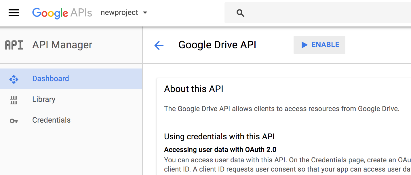 Use data from Google Drive in static websites