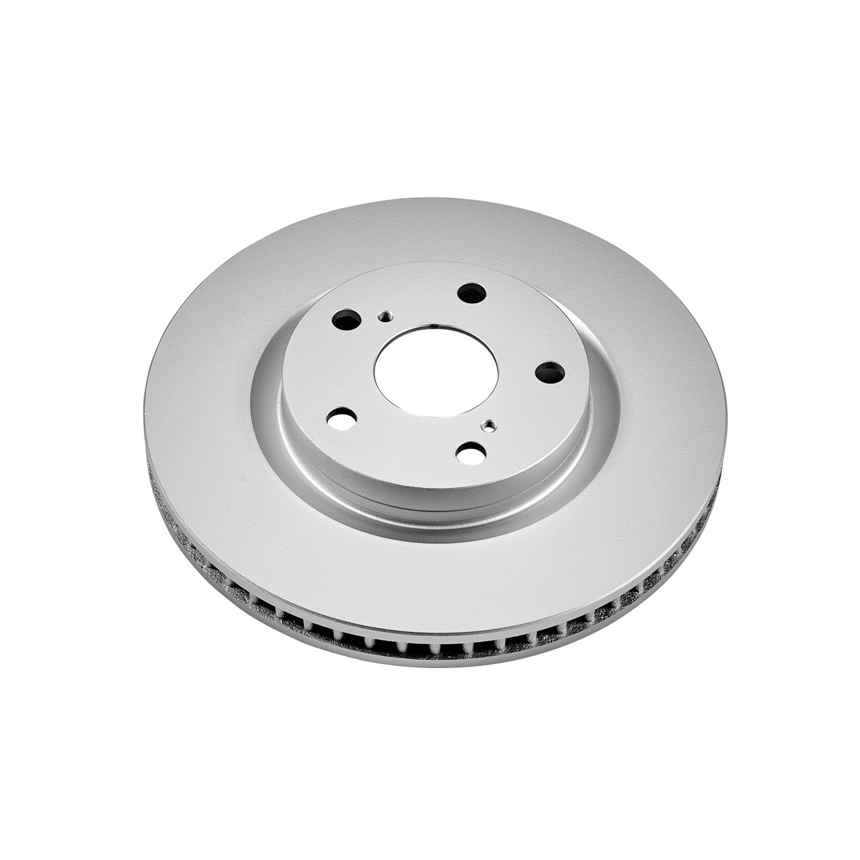 Disc Brake Rotor-Evolution Coated Rotors Front Power Stop JBR709EVC