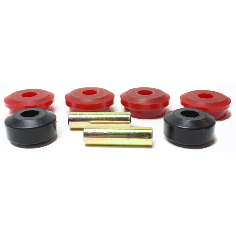 Energy Suspension 15.3118R Control Arm Bushing Set Red Performance Polyurethane