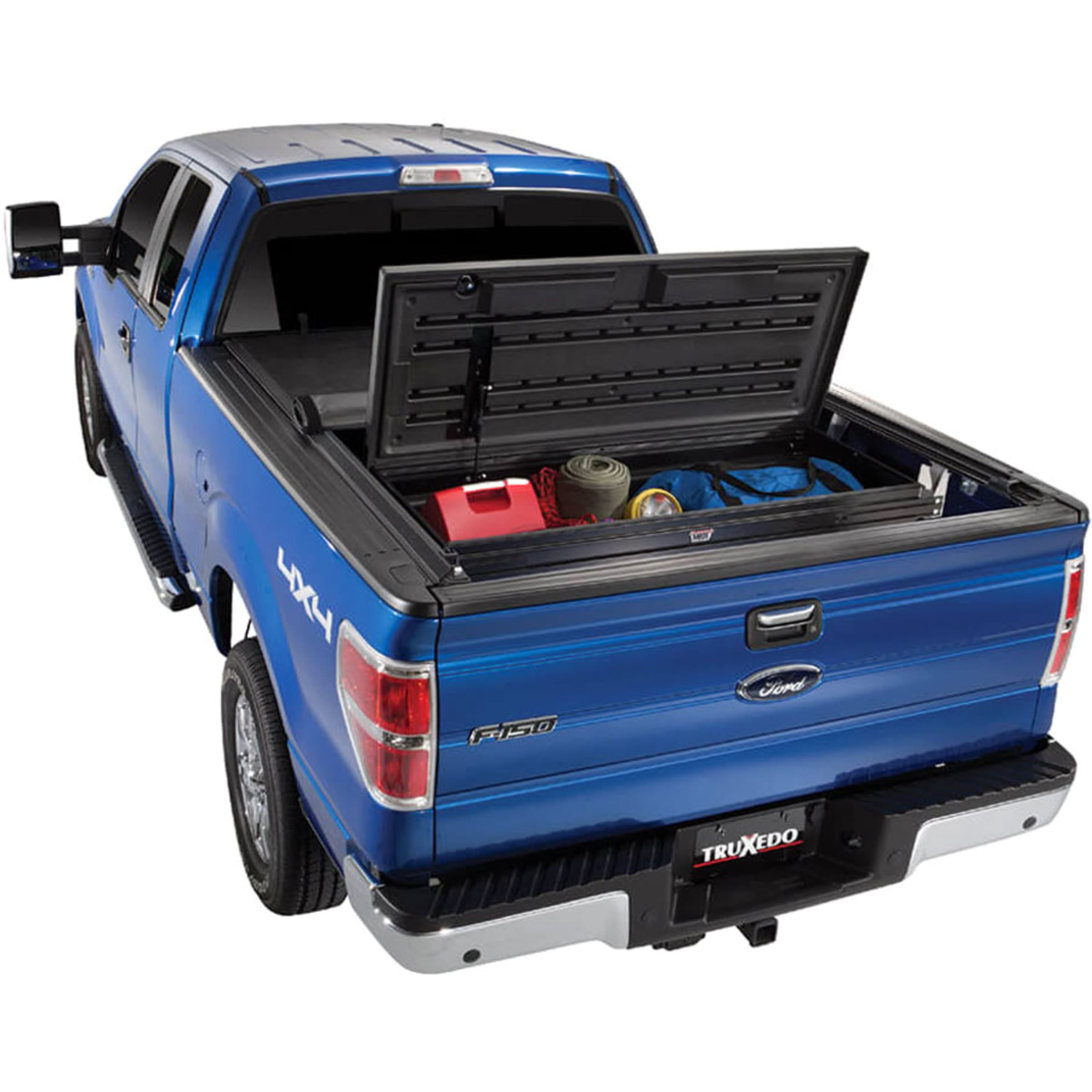 Truck Utility Box >> Truxedo 1117416 Truck Tool Box Black Thermoplastic Utility Box Direct Fit Sold Individually