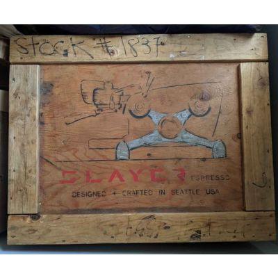 Coffee Carts and Benches Slayer Crate