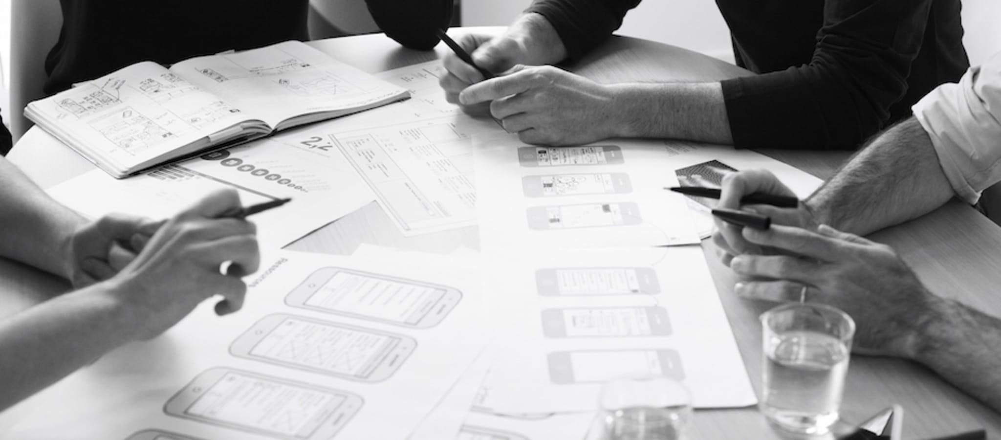 Avant d'initier le projet, un atelier est organisé pour sensibiliser les acteurs du projet au design de services construit à l'image du déroulement pressenti du projet : chacune des étapes sera expliquée et fera l'objet d'une mise en application