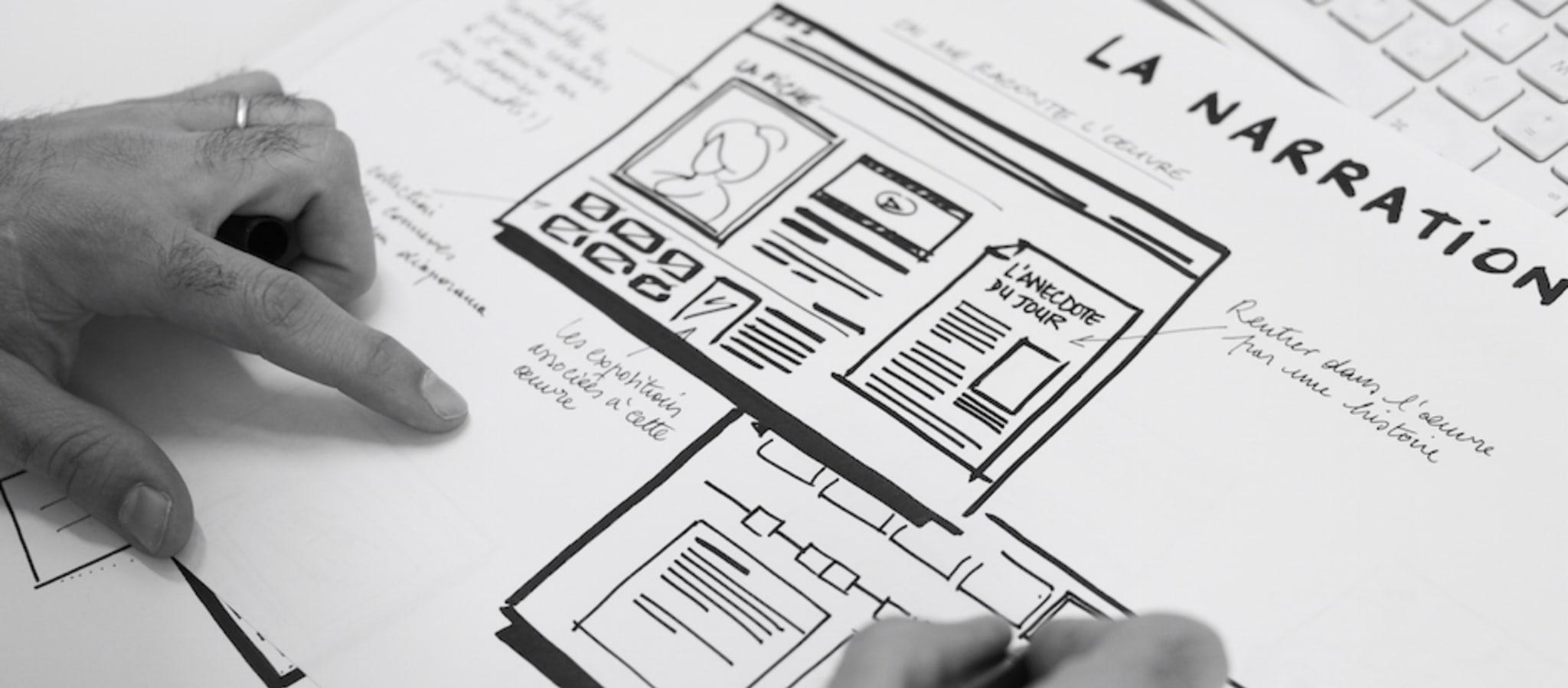 Pour imaginer le futur service, différentes pistes fonctionnelles ou créatives sont explorées par l'équipe