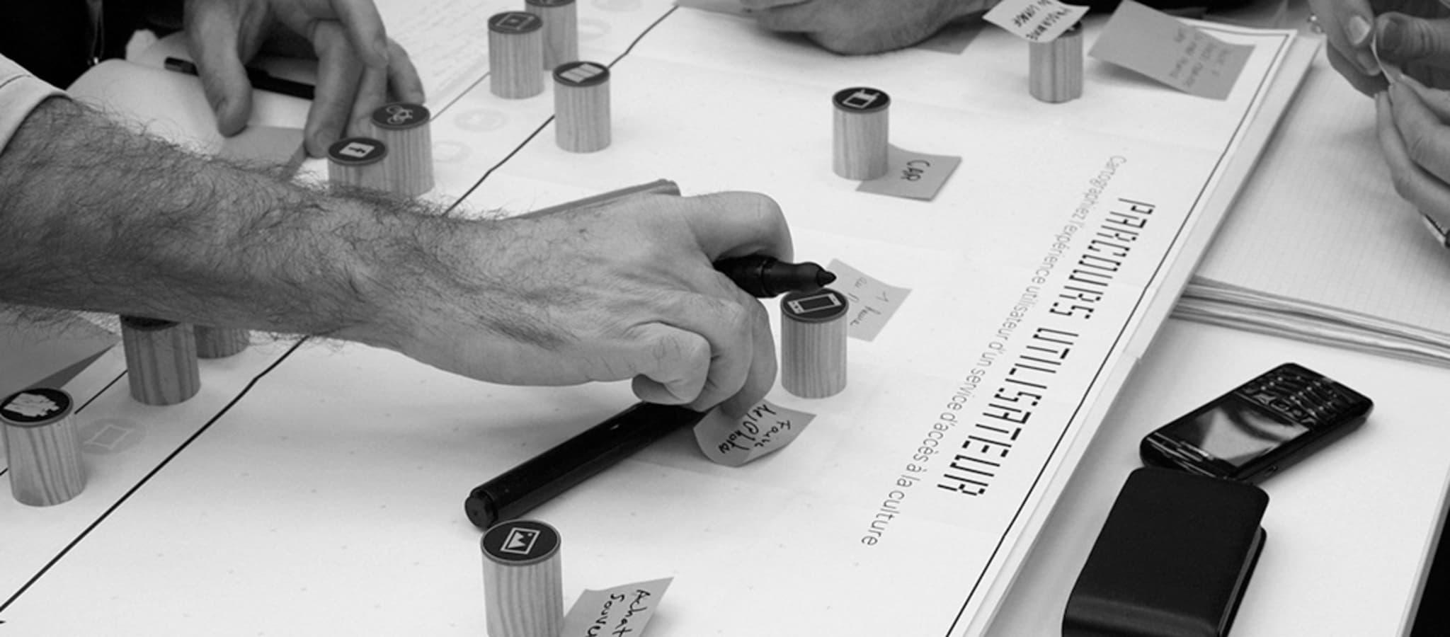 Fiches idées, dossier de synthèse et recommandations, book concept... Selon vos objectifs, nous formalisation en sortie d'atelier le livrable qui servira au mieux la suite du projet
