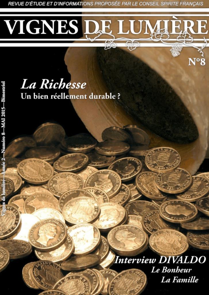 Couverture d'ouvrage: Vignes de Lumière - 8