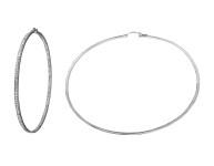 3.75 CTW Diamond Earrings 14K White Gold