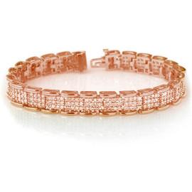7 CTW Diamond Bracelet 14KT Rose Gold