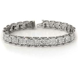 7 CTW Diamond Bracelet 18KT White Gold