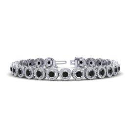 8.75 CTW Diamond Bracelet 18KT White Gold