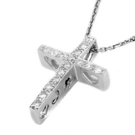 0.17 CTW Diamond Pendant 18KT White Gold