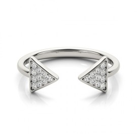 0.25 CTW Diamond Ring 14KT White Gold