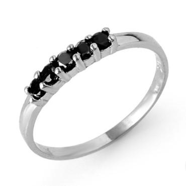 0.25 CTW Diamond Ring 18KT White Gold