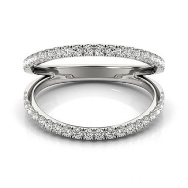 0.33 CTW Diamond Ring 18KT White Gold