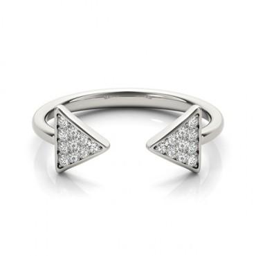 0.25 CTW Diamond Ring 14KT White Gold