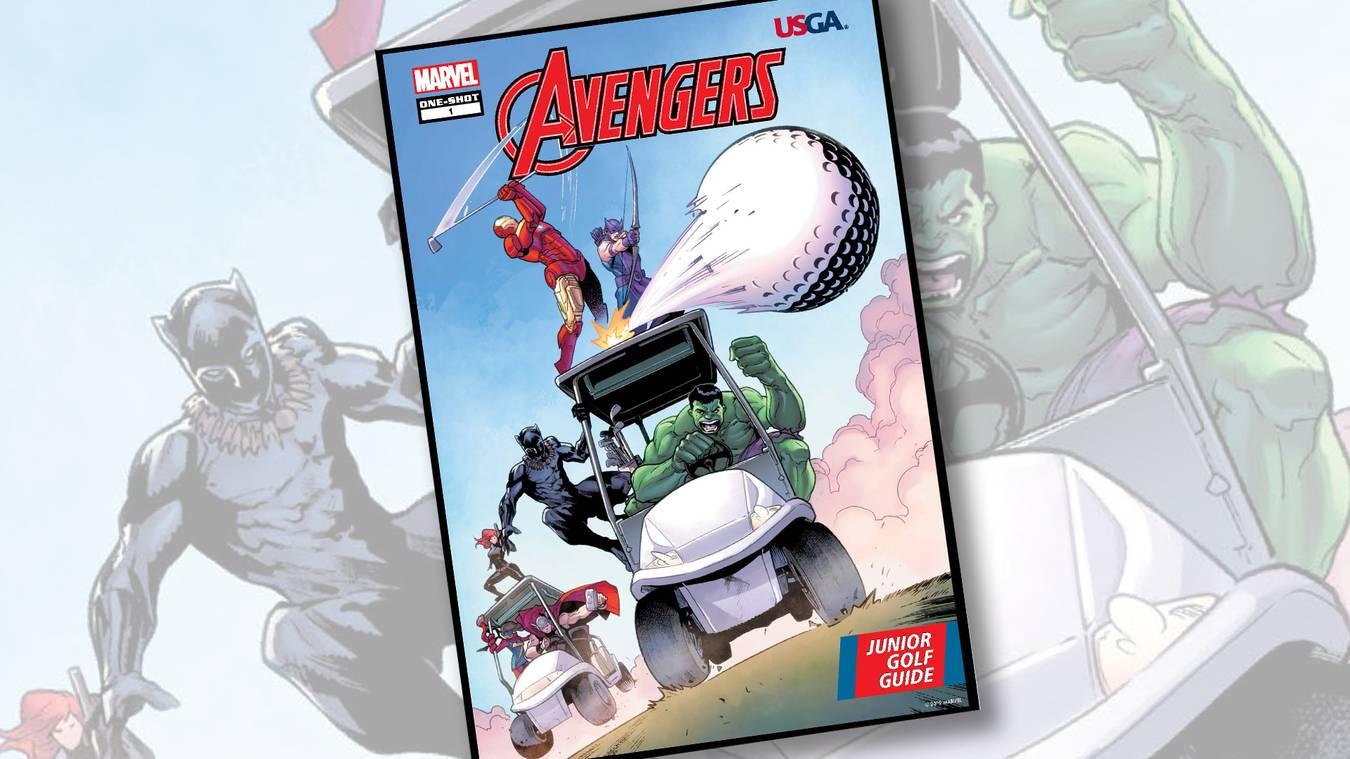 Marvel Usga Team Up To Create Comic Book For Junior Golfers