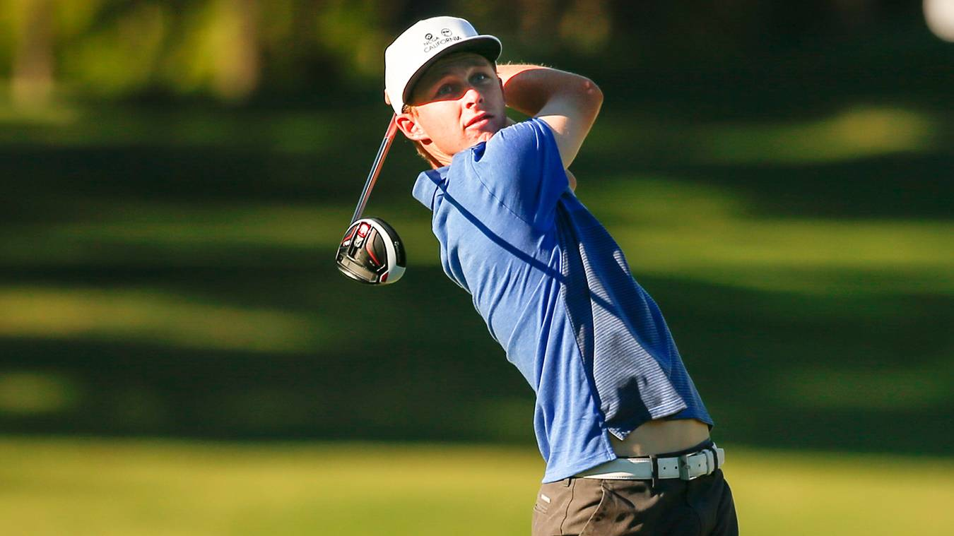 Dan Erickson, one of three 17-year-olds on the California team, admittedly  struggled with his game on Wednesday. (USGA/Chris Keane)