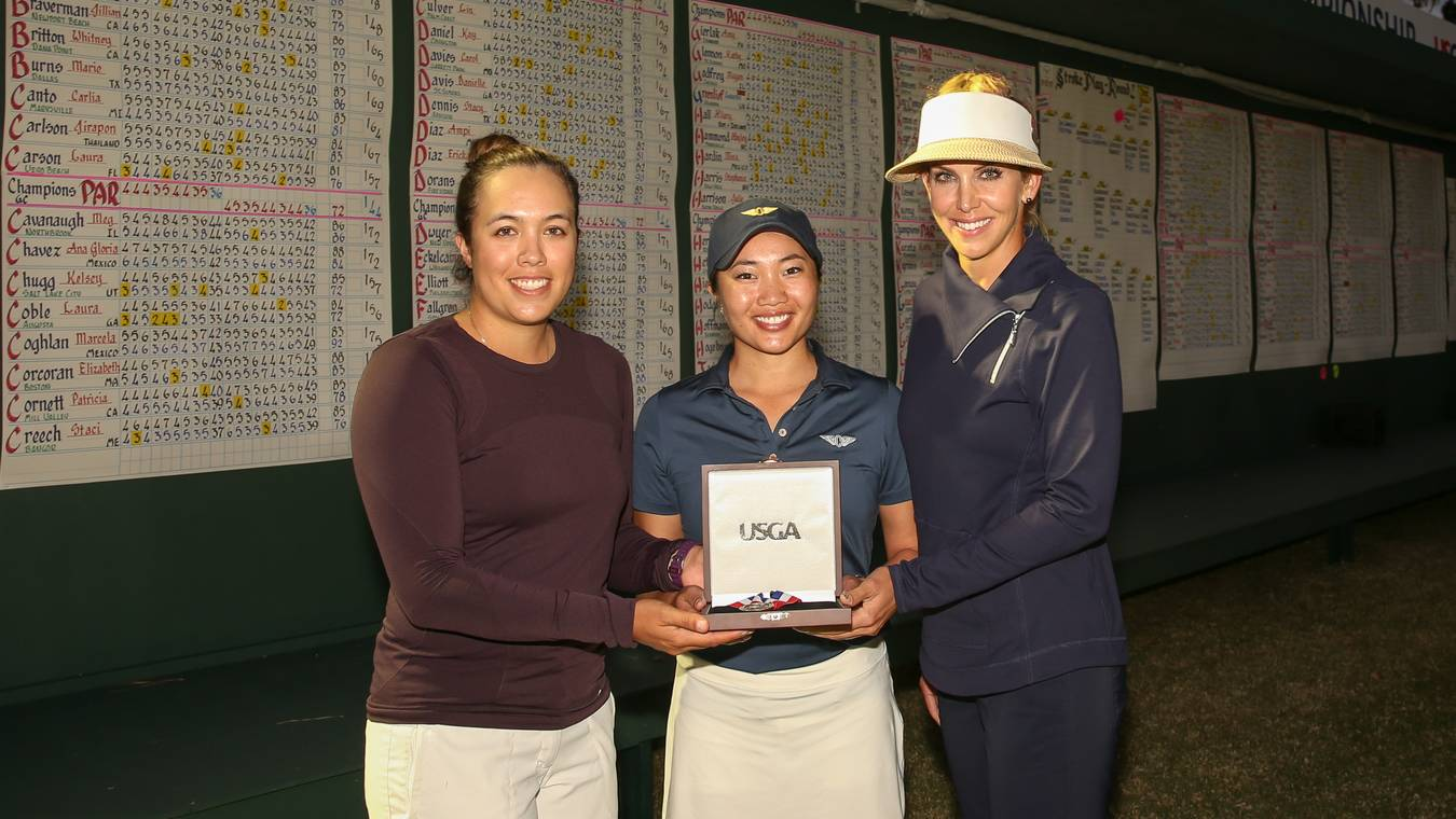14622e4456808 Trio Shares Medalist Honors at Champions Golf Club