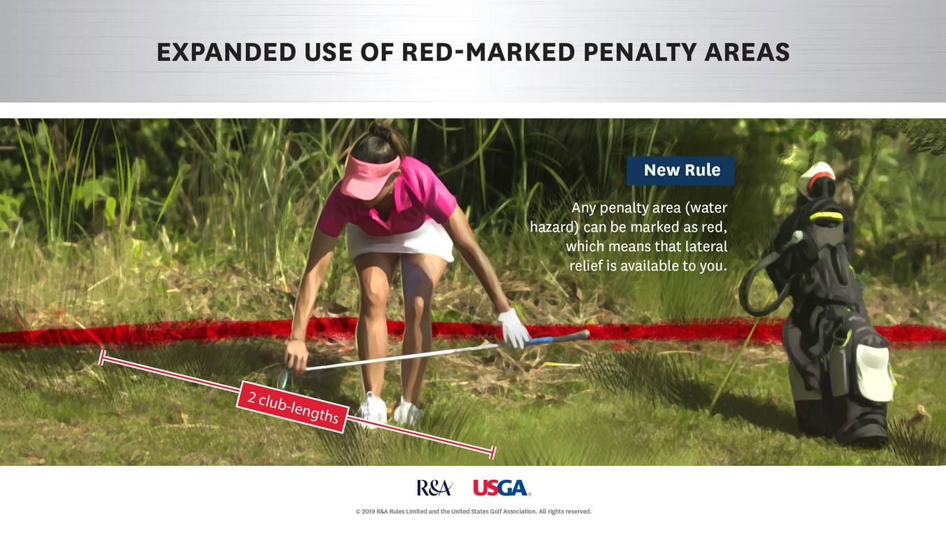 Major Change Expanded Use Of Red Marked Penalty Areas