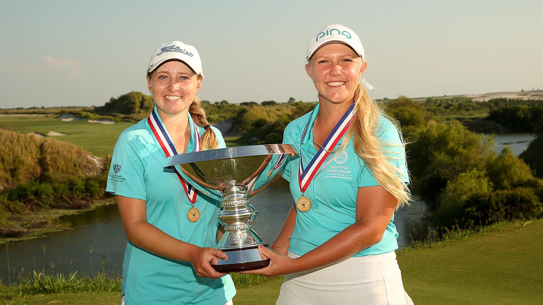 Us amateur jr golf women