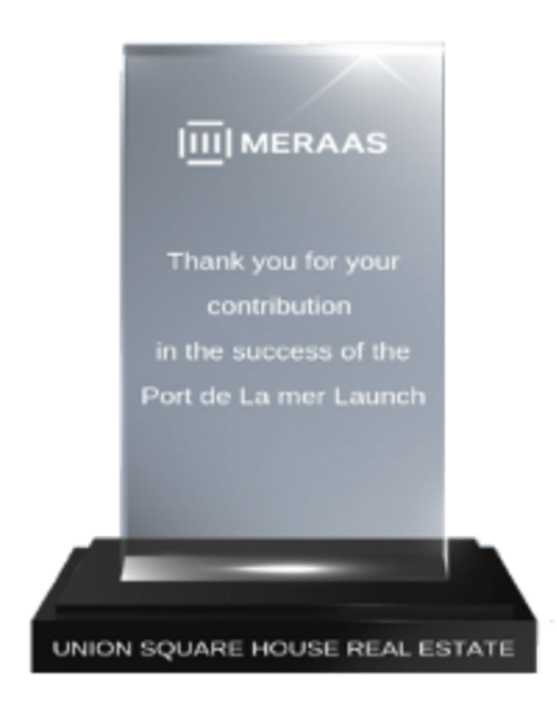 Meraas Top Broker Award