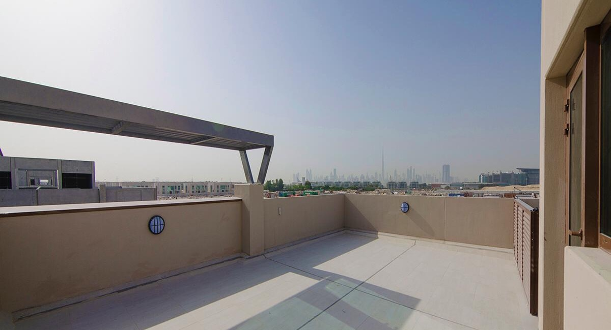 Brand New Burj khalifa view I Roof top Garden