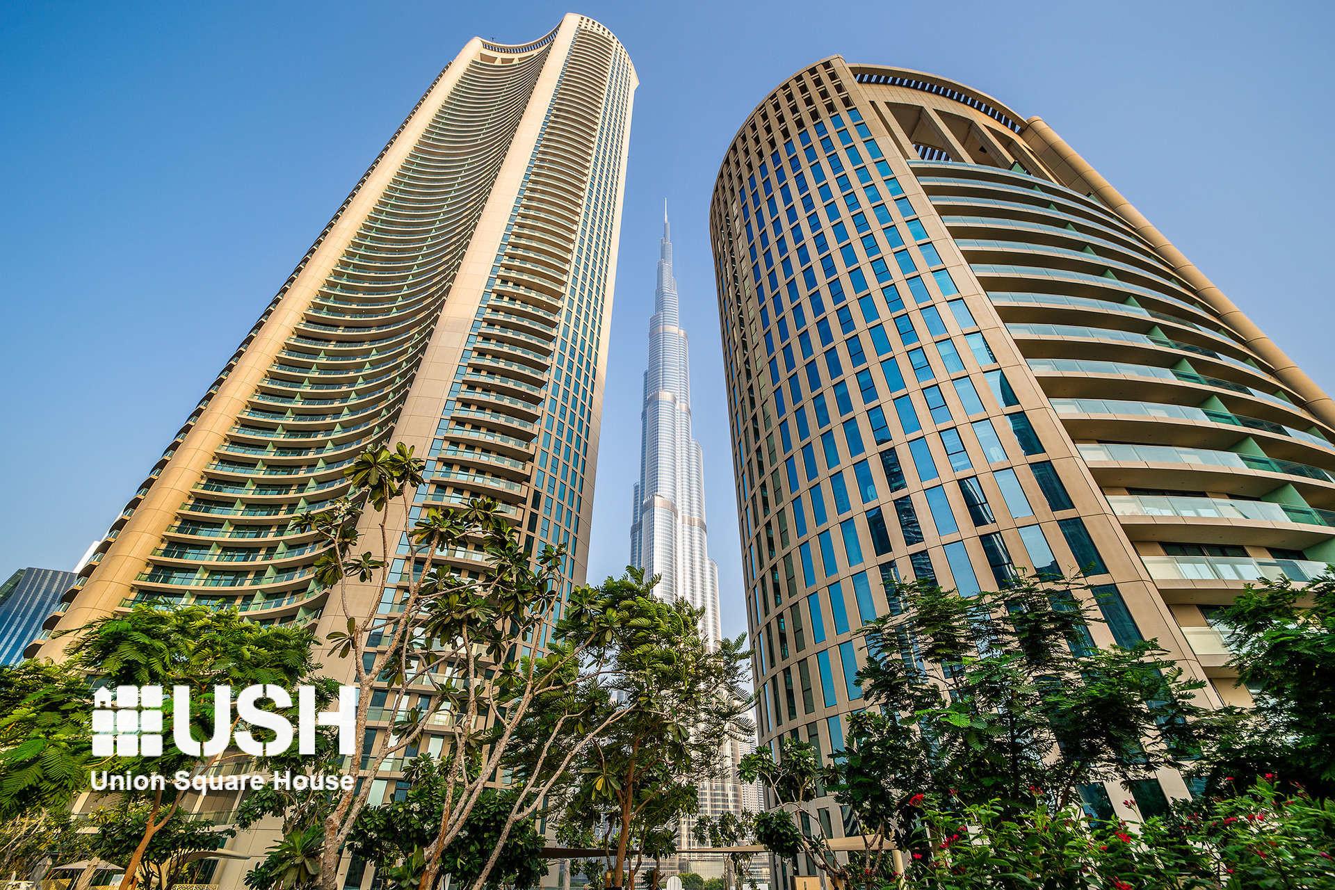 Full Burj Khalifa View!  | 04 | Safe Investment
