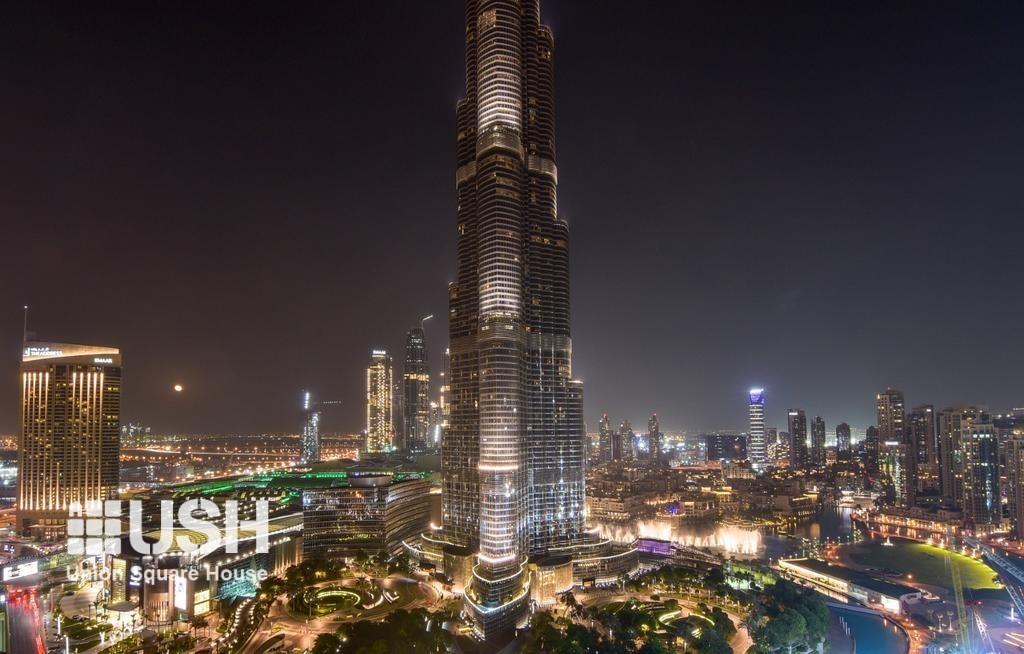 Sublime Burj & Fountain Views | High Floor 04