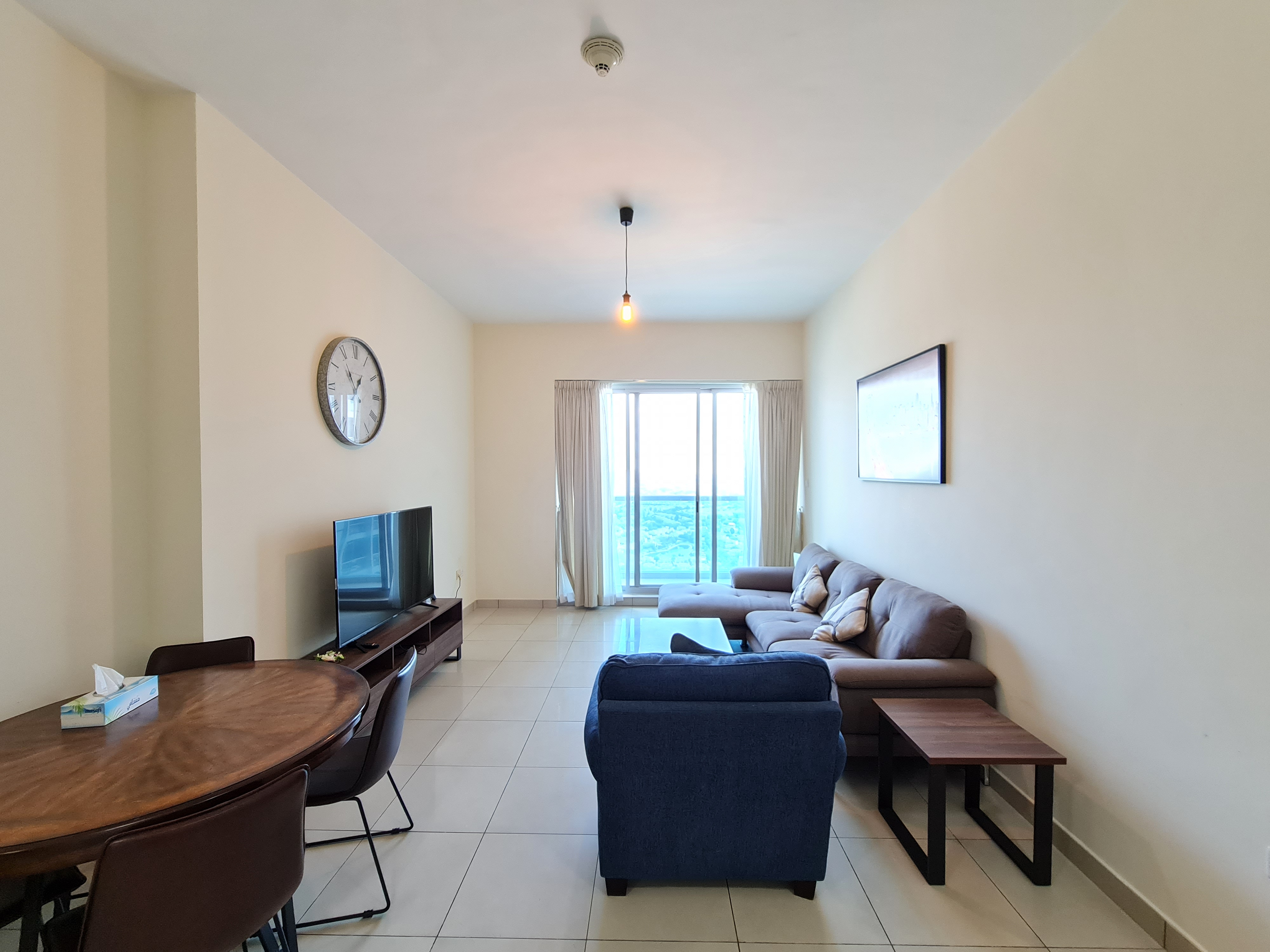 Spacious Fully Furnished 1Br Apt Chiller Free