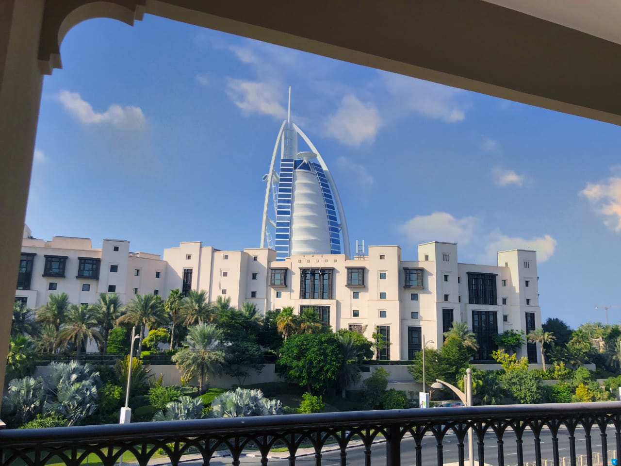 An exclusive address overlooking burj al arab