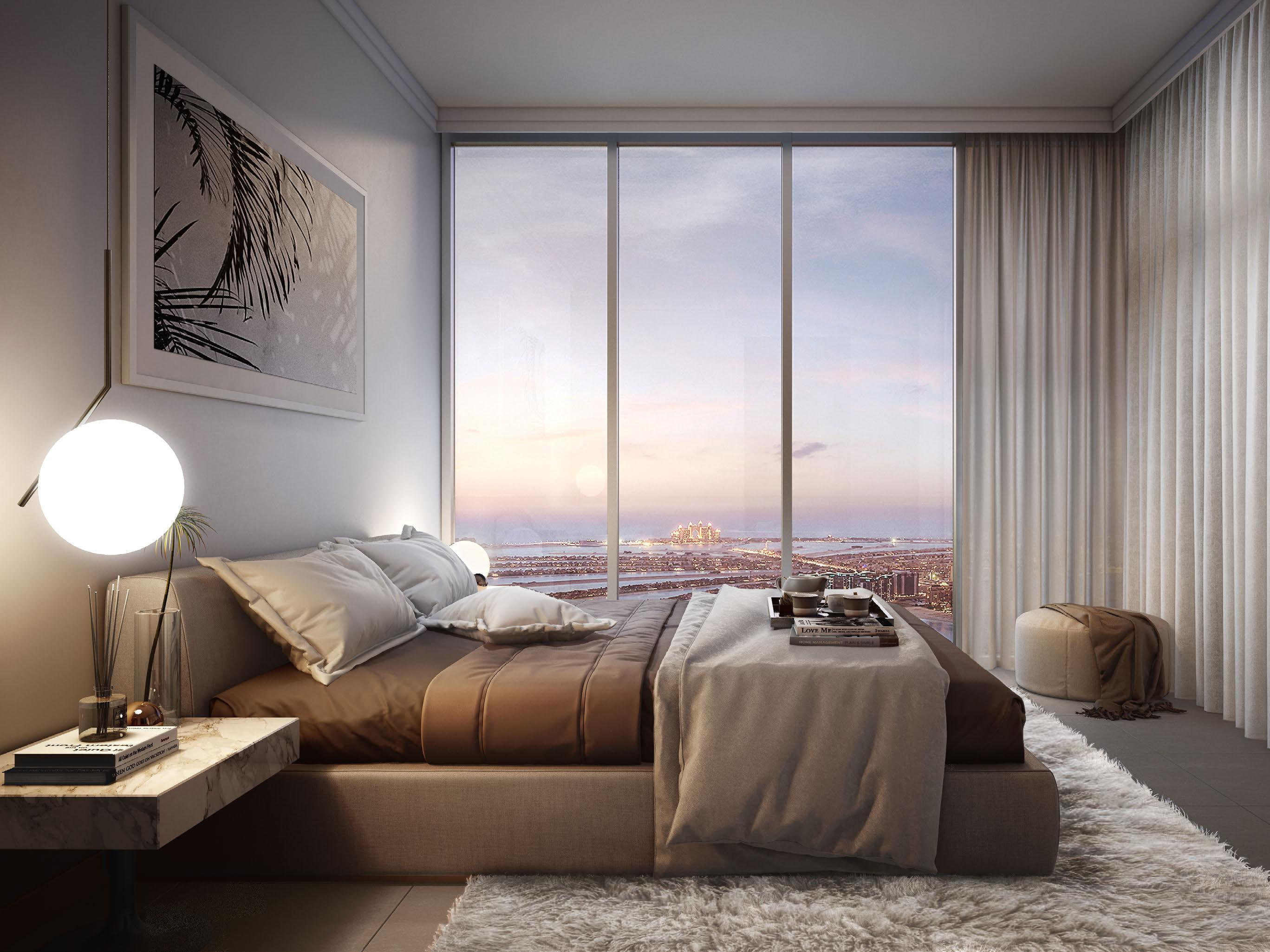 Exclusive Resale unit  2 Bed Palm and Sea View