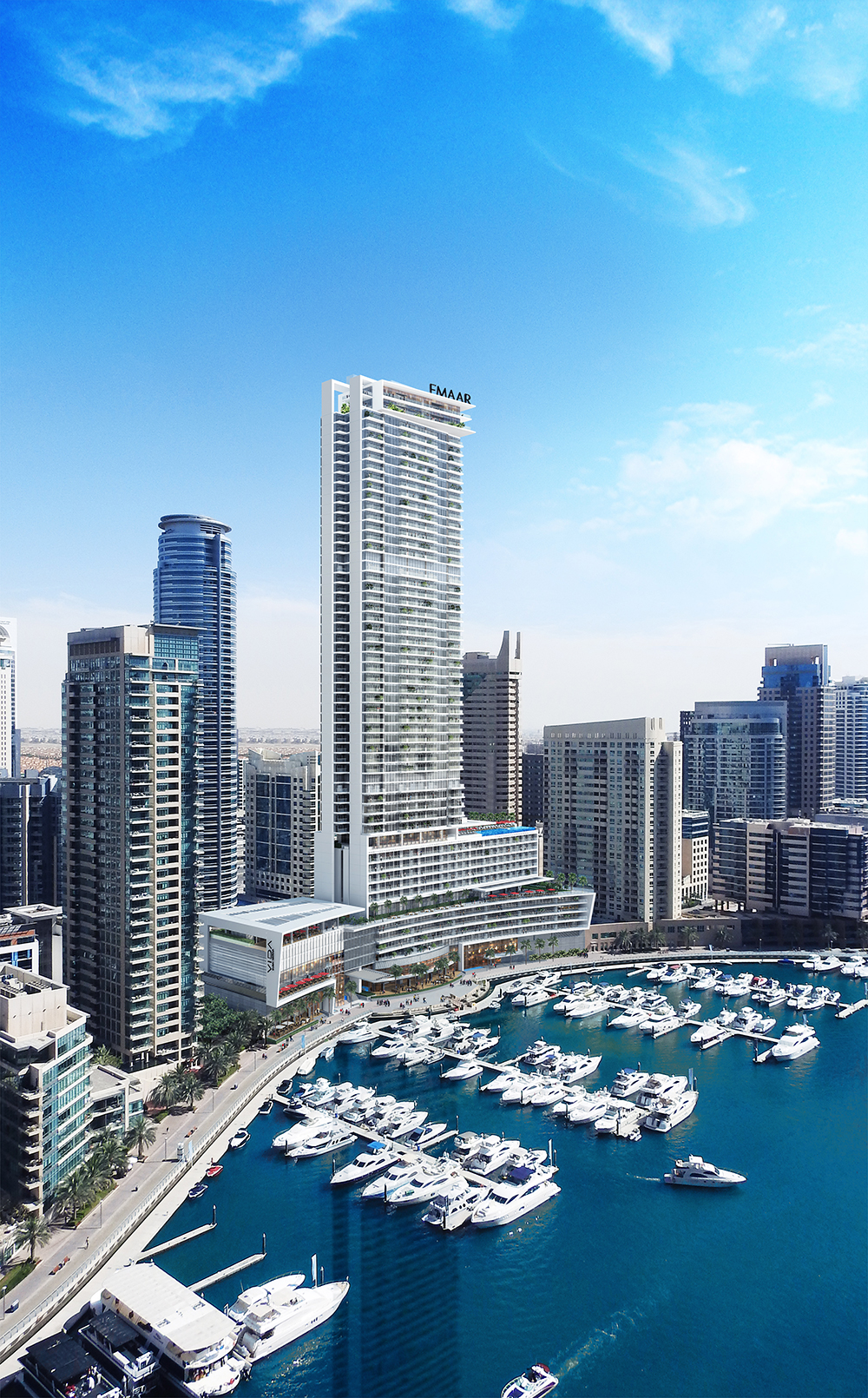 Unique 1 Bed Apt with Full Marina Views