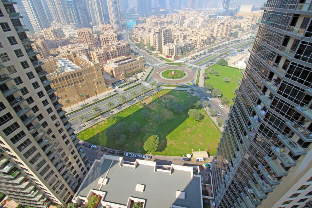 Furnished| Burj Khalifa and Park View| High Floor