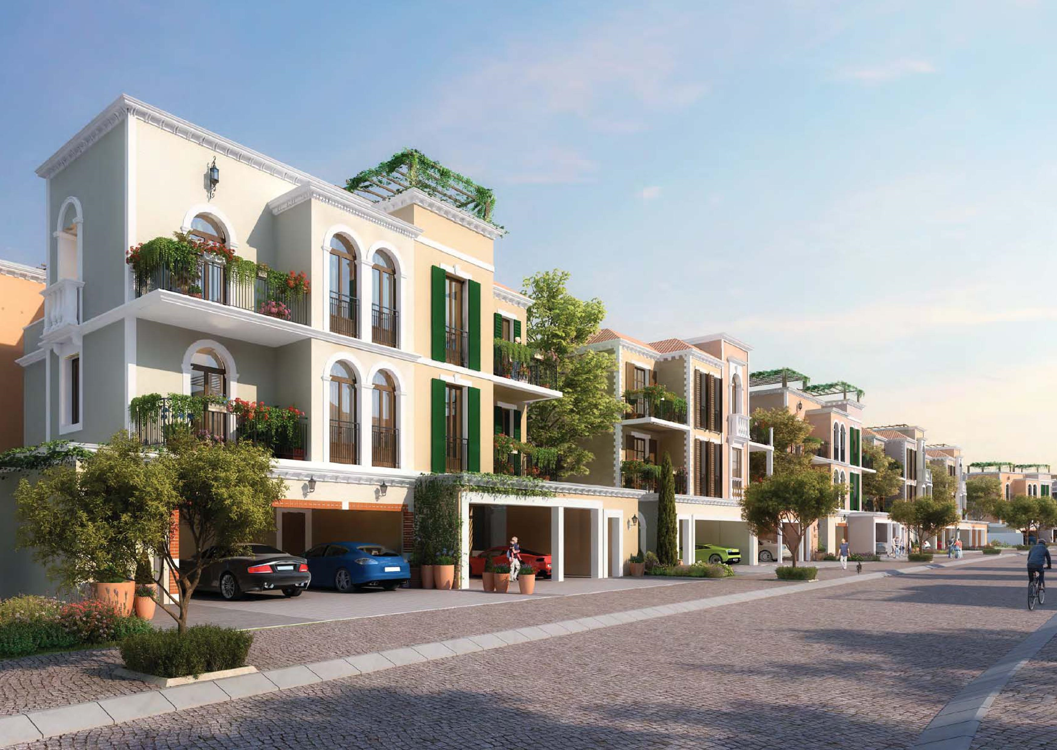 Exclusive 5 Beds townhouse Sea View Facing