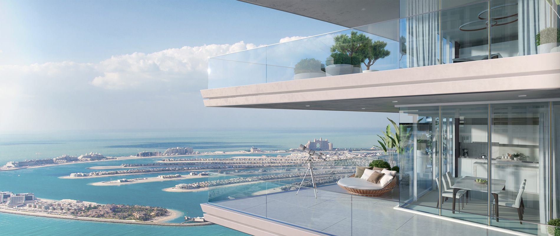 Genuine Resale I 4 Bedroom I Palm & Sea Views