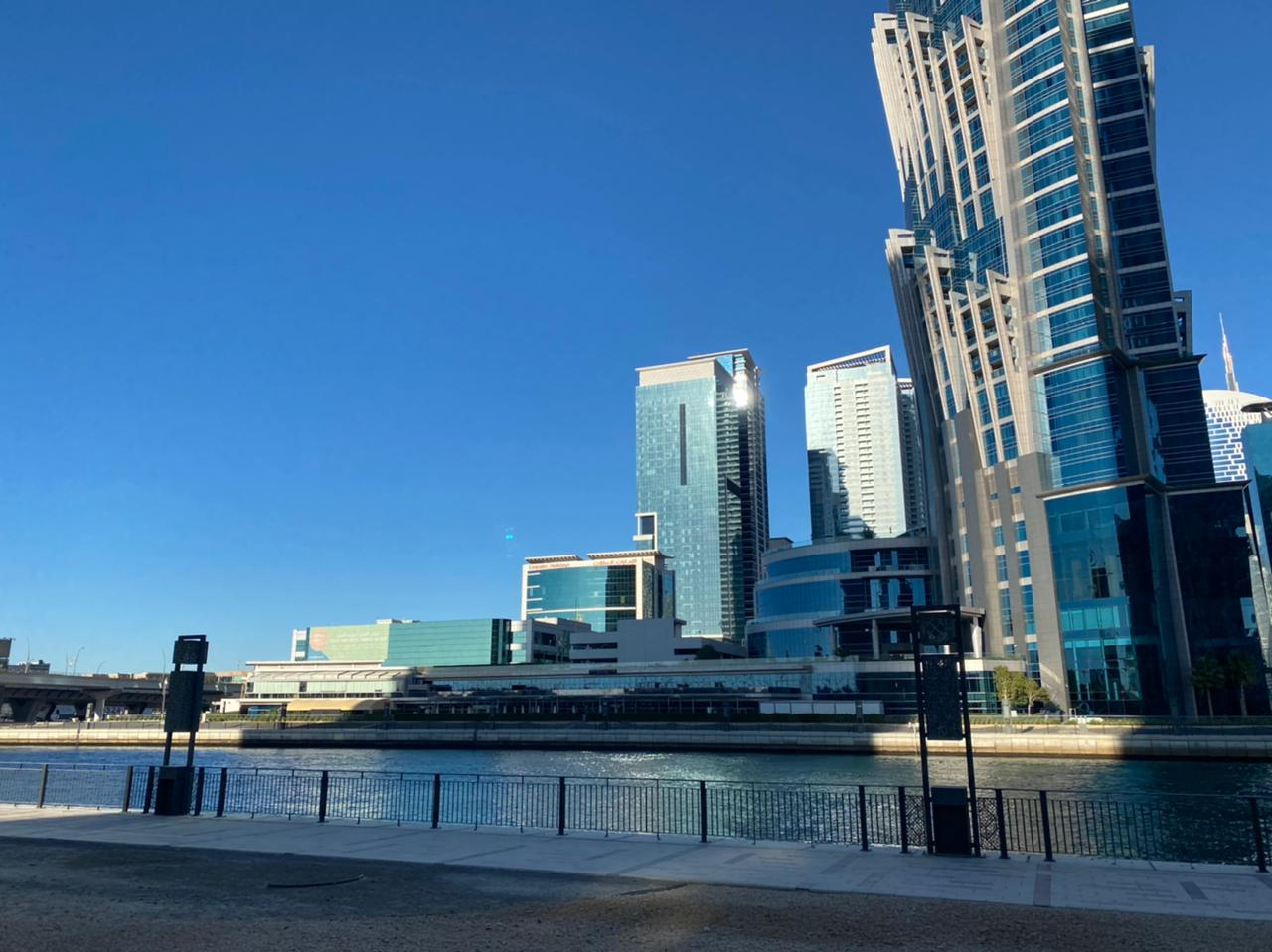 Ready to Move Luxury 1BR  sea view next to water canal