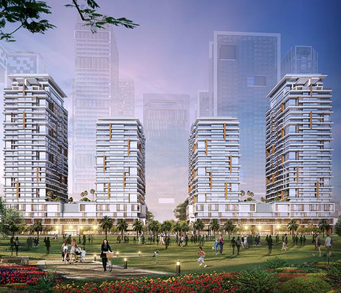Higher Floor | Type 1 | Full Park & Frame View