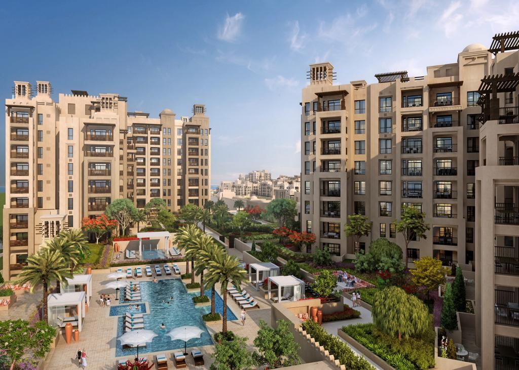 Amazing 2 beds with Stunning View in Jumeirah