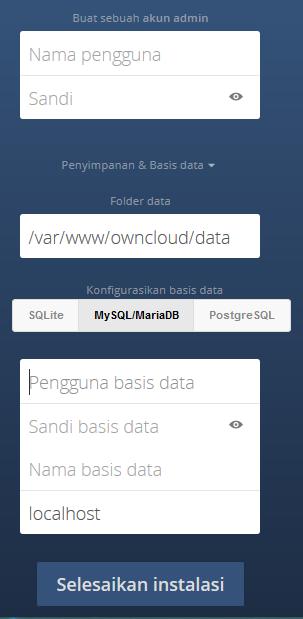 Cara Install Owncloud di Ubuntu