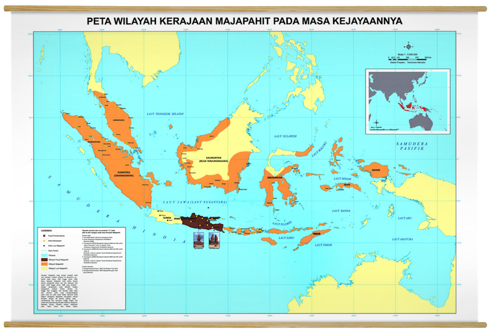 "Kerajaan Majapahit ""the Biggest Nusantara Kingdom"""