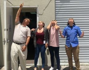 USMED employees viewing the Eclipse