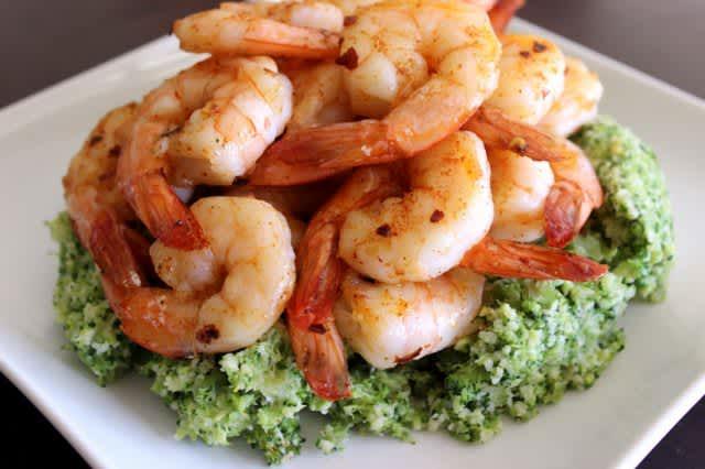 Spicy-Shrimp-and-Broccoli-Mash