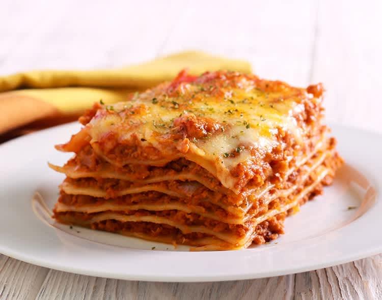 light-beef-and-sausage-lasagna
