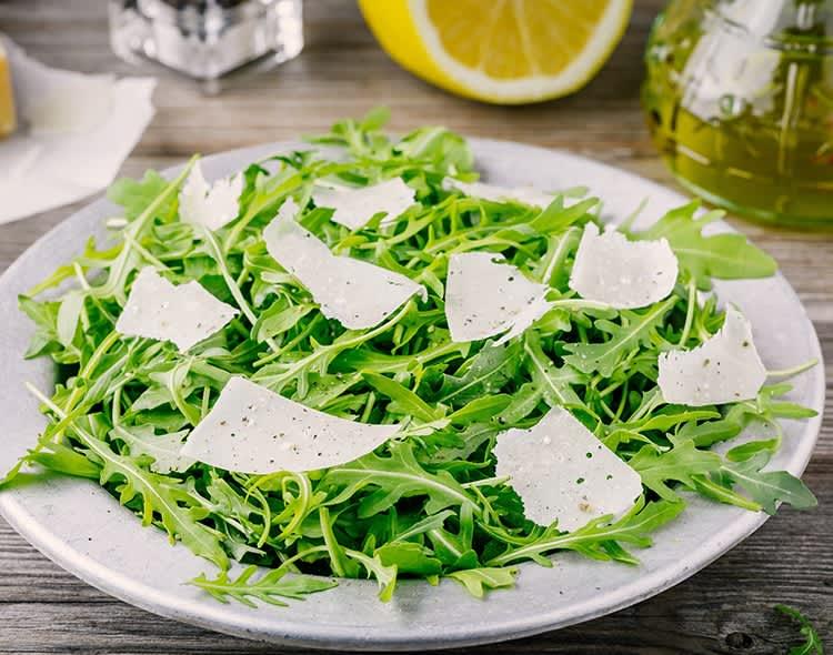 Arugula-Salad-with-Shaved-Parmesan