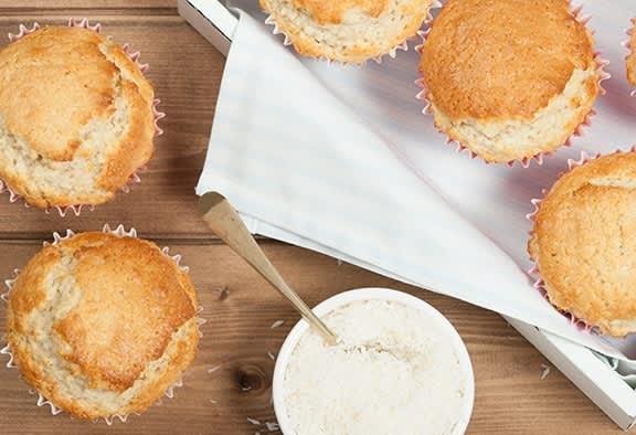 Sugar-Free-Coconut-Muffin-Recipe